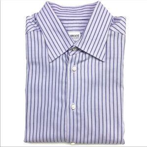 Armani Collezioni | Lavender Dress Shirt